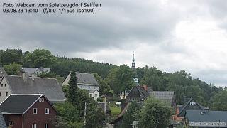 Live Webcam Bild von Kurort Seiffen